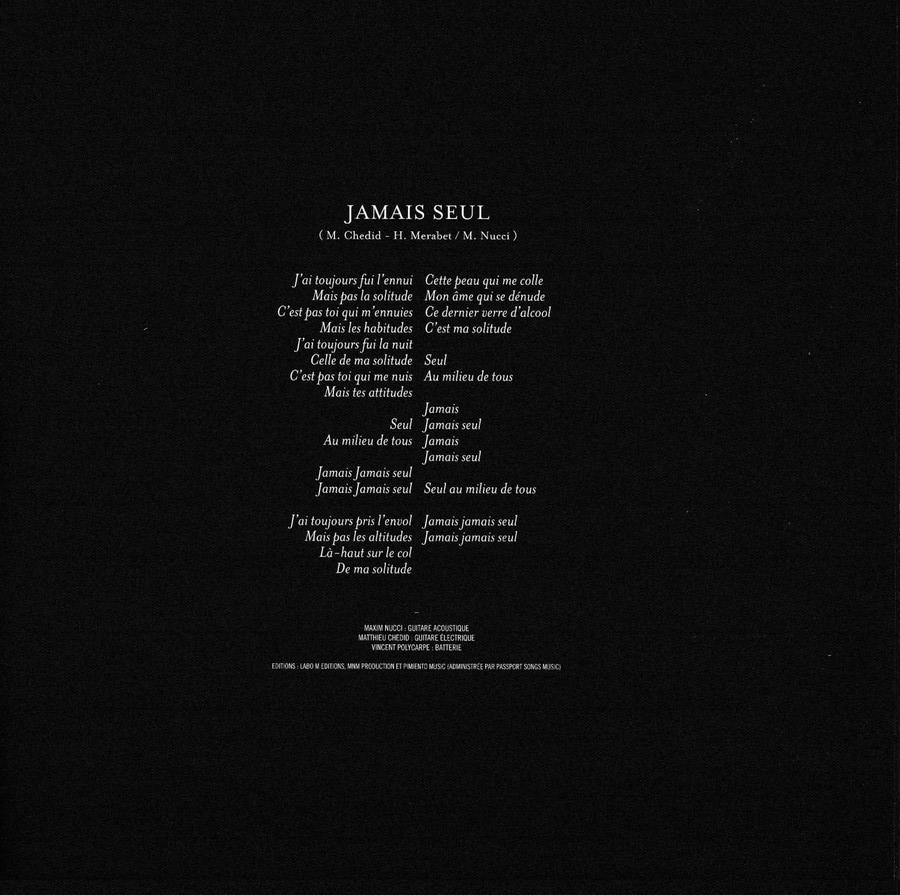 COFFRET JAMAIS SEUL ( COFFRET COLLECTOR )( 2011 ) 2011_j49