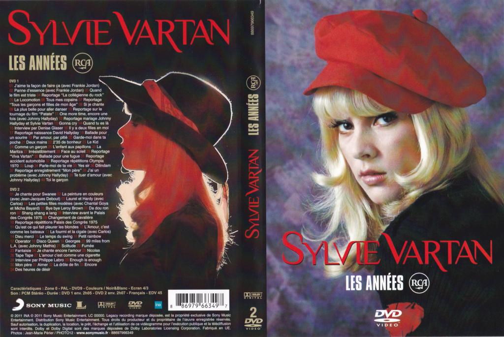 JAQUETTE DVD EMISSIONS TV , DOCUMENTS ,COMPILATIONS , ETC ( Jaquette + Sticker ) 2011_s12