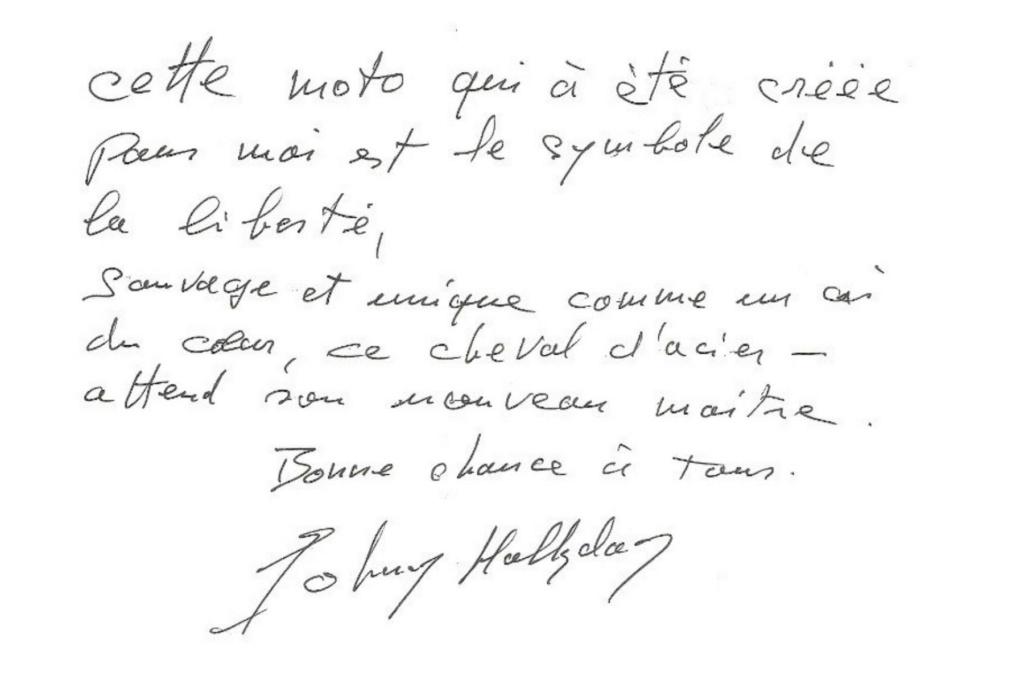 TRAVERTSON V-REX DE JOHNNY HALLYDAY ( 2008 ) 20122017