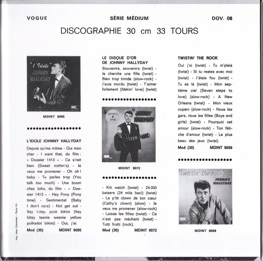 COFFRET 'LES EP VOGUE' ( COFFRET 15CD )( 2012 ) 2012_148