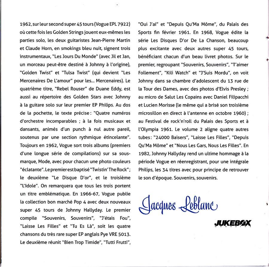 COFFRET 'LES 25CM ET LES 30CM VOGUE' ( COFFRET 10  CD ( 2012 ) 2012_175