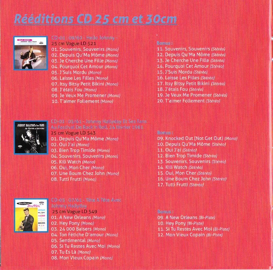 COFFRET 'LES 25CM ET LES 30CM VOGUE' ( COFFRET 10  CD ( 2012 ) 2012_177