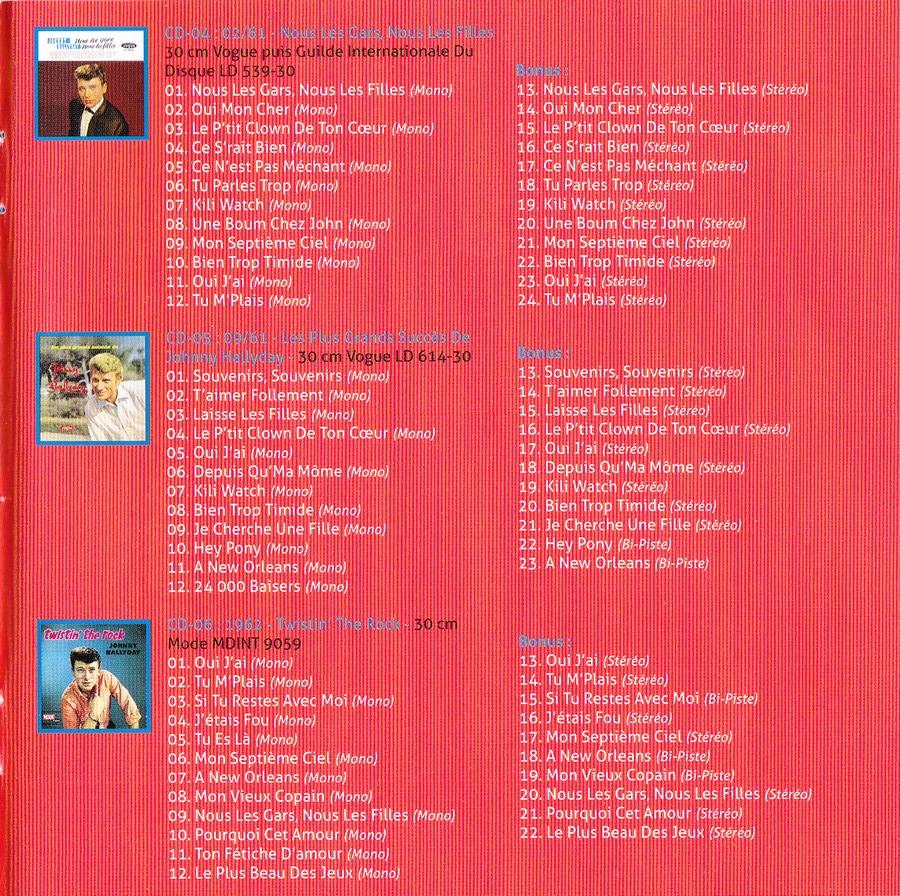 COFFRET 'LES 25CM ET LES 30CM VOGUE' ( COFFRET 10  CD ( 2012 ) 2012_178