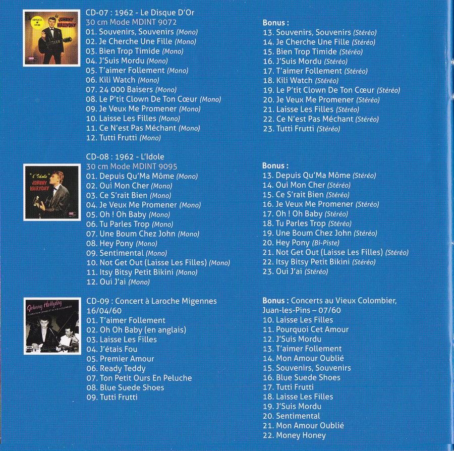 COFFRET 'LES 25CM ET LES 30CM VOGUE' ( COFFRET 10  CD ( 2012 ) 2012_179