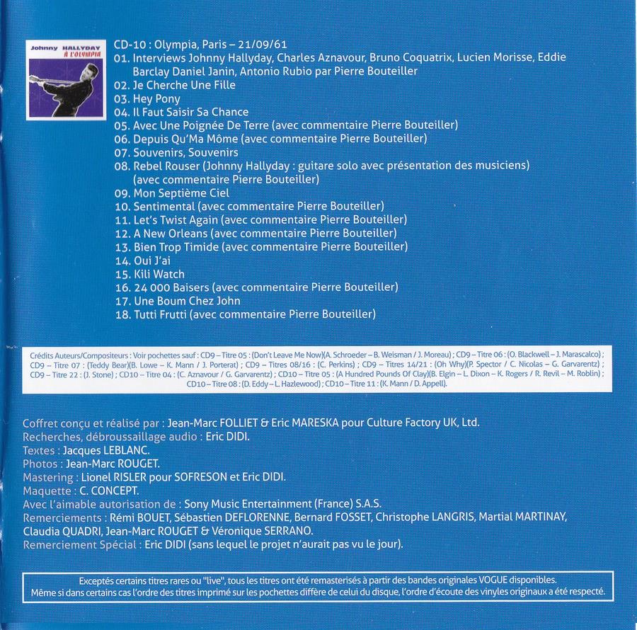 COFFRET 'LES 25CM ET LES 30CM VOGUE' ( COFFRET 10  CD ( 2012 ) 2012_180