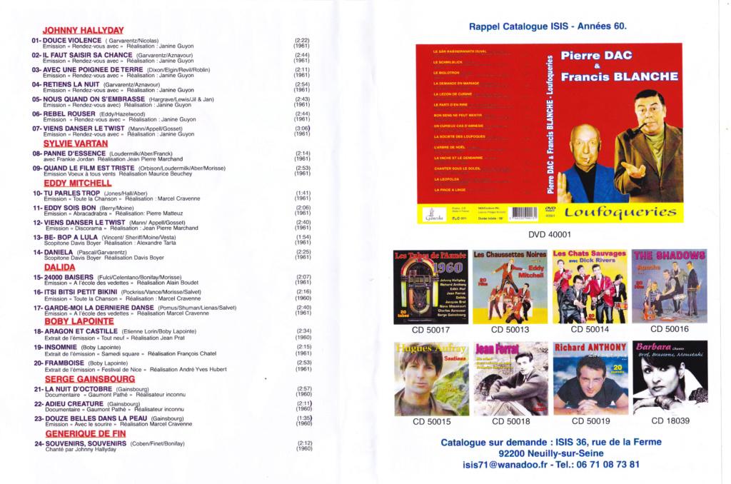 JAQUETTE DVD EMISSIONS TV , DOCUMENTS ,COMPILATIONS , ETC ( Jaquette + Sticker ) 2012_l16
