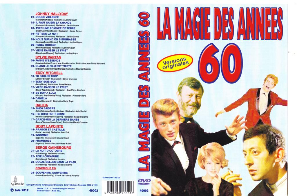 JAQUETTE DVD EMISSIONS TV , DOCUMENTS ,COMPILATIONS , ETC ( Jaquette + Sticker ) 2012_l18