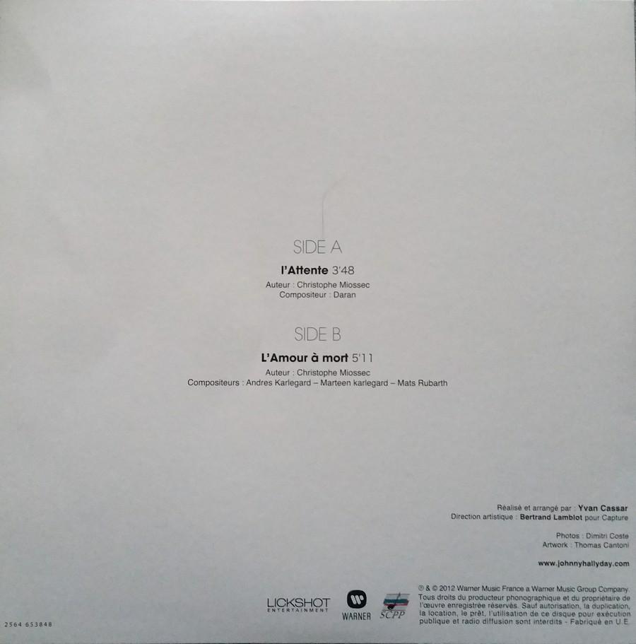 COFFRET 'L'ATTENTE' ( EDITION LUXE NUMEROTEE )( 2012 ) 2012_l36
