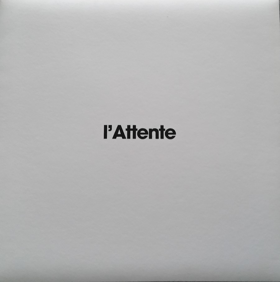 COFFRET 'L'ATTENTE' ( EDITION LUXE NUMEROTEE )( 2012 ) 2012_l39