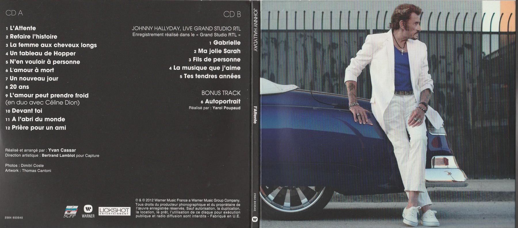 COFFRET 'L'ATTENTE' ( EDITION LUXE NUMEROTEE )( 2012 ) 2012_l58