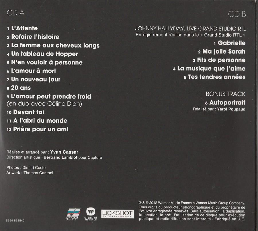 COFFRET 'L'ATTENTE' ( EDITION LUXE NUMEROTEE )( 2012 ) 2012_l63