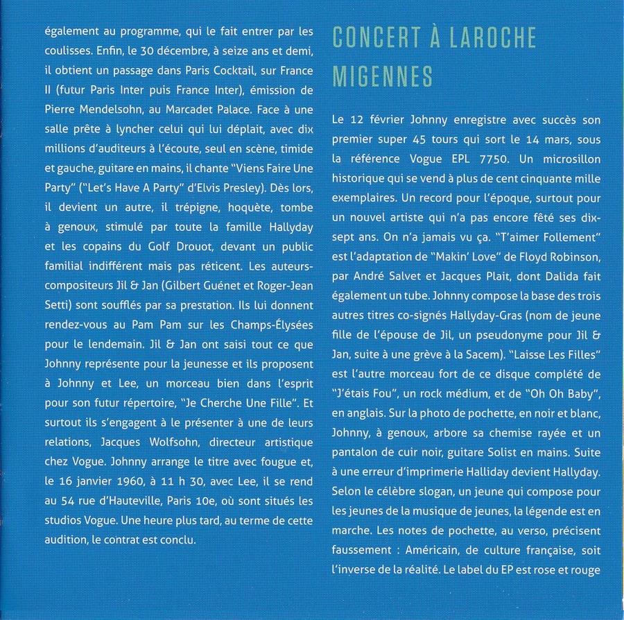 COFFRET 'LES EP VOGUE' ( COFFRET 15CD )( 2012 ) 2012_l74