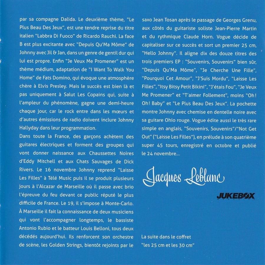 COFFRET 'LES EP VOGUE' ( COFFRET 15CD )( 2012 ) 2012_l83