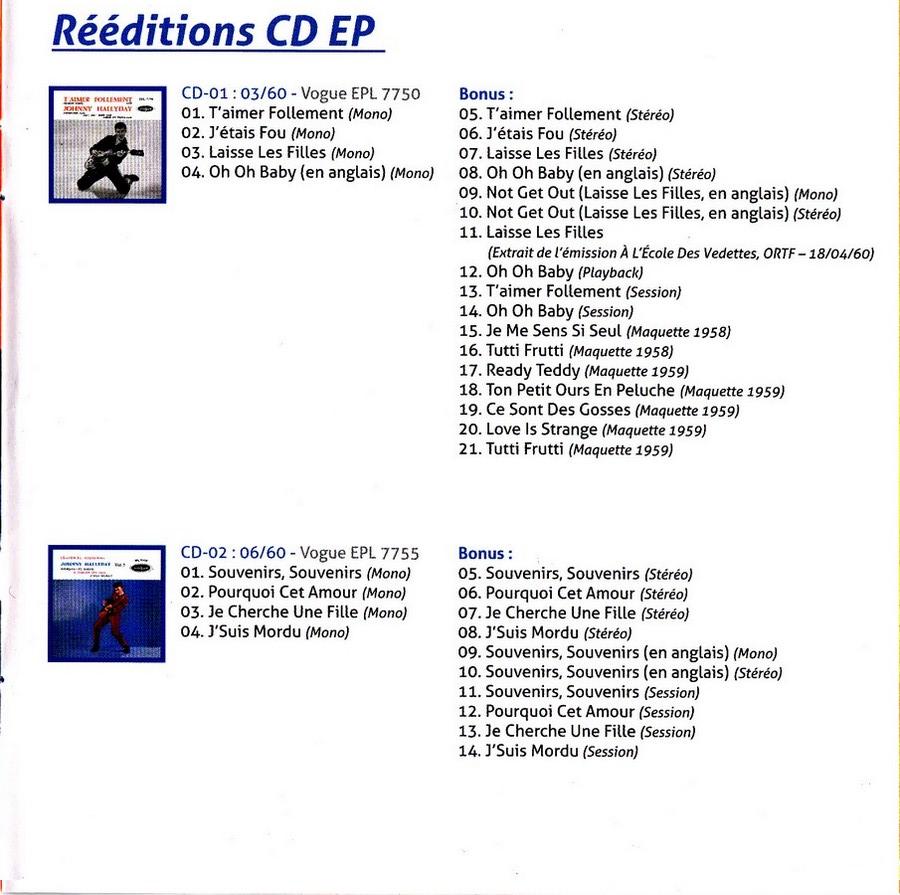 COFFRET 'LES EP VOGUE' ( COFFRET 15CD )( 2012 ) 2012_l84