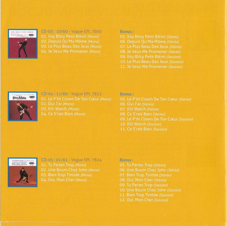COFFRET 'LES EP VOGUE' ( COFFRET 15CD )( 2012 ) 2012_l85