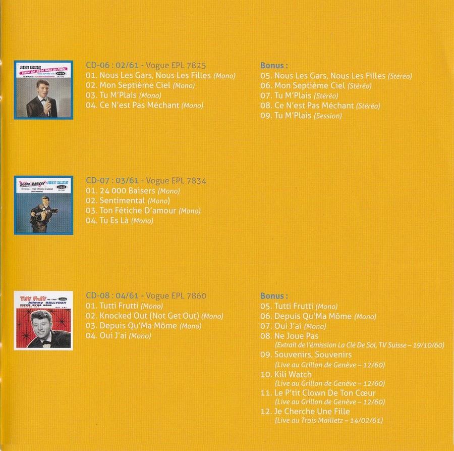 COFFRET 'LES EP VOGUE' ( COFFRET 15CD )( 2012 ) 2012_l86