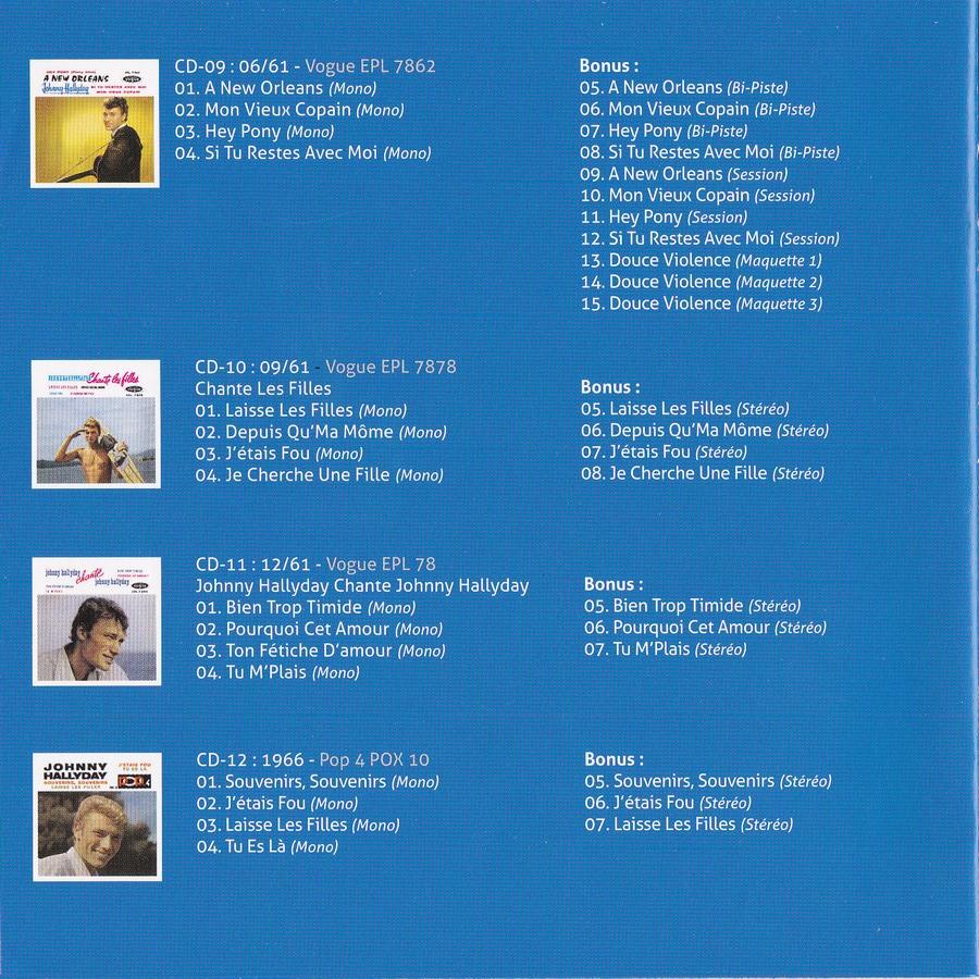 COFFRET 'LES EP VOGUE' ( COFFRET 15CD )( 2012 ) 2012_l89
