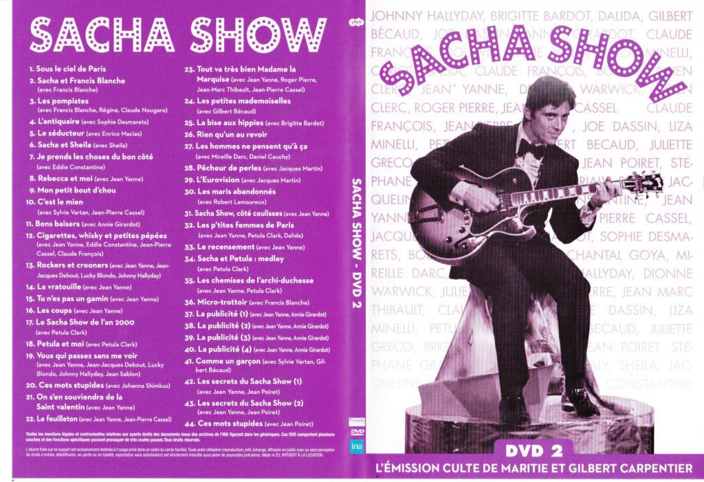 JAQUETTE DVD EMISSIONS TV , DOCUMENTS ,COMPILATIONS , ETC ( Jaquette + Sticker ) 2012_s14