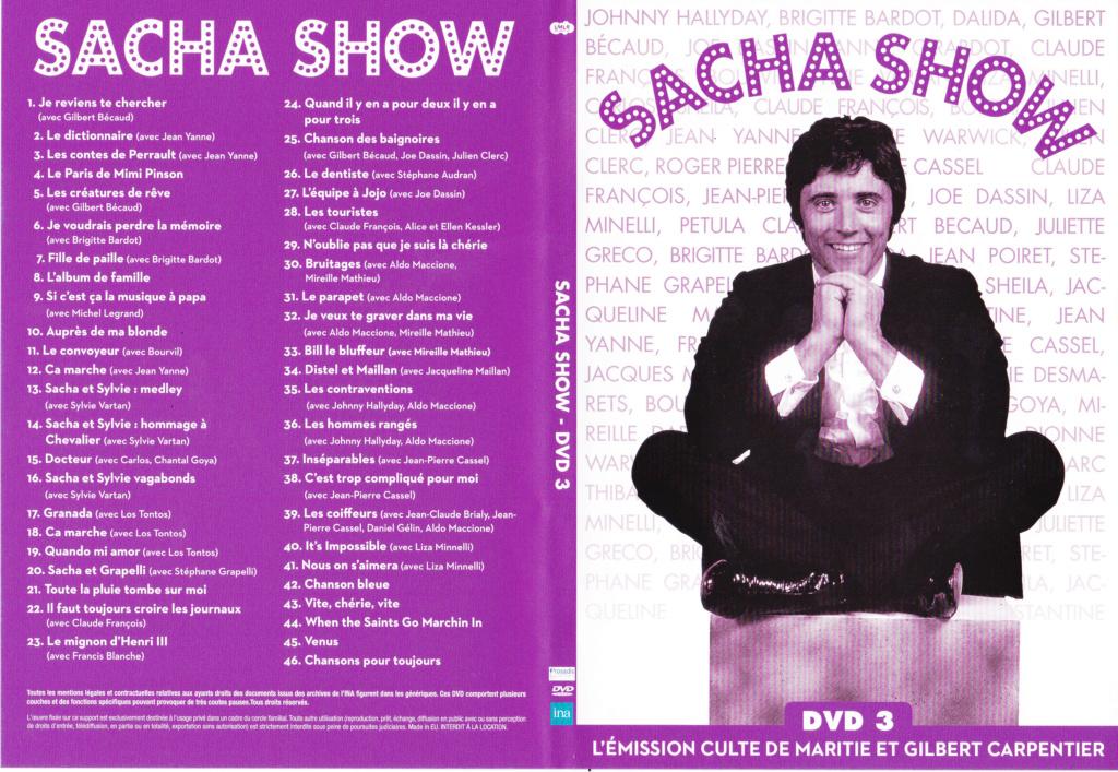 JAQUETTE DVD EMISSIONS TV , DOCUMENTS ,COMPILATIONS , ETC ( Jaquette + Sticker ) 2012_s16