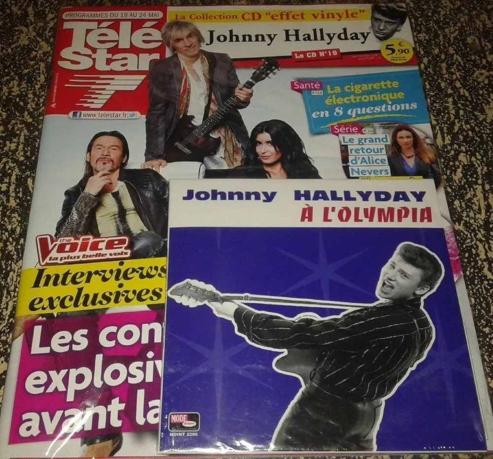 LA COLLECTION CD EFFET VYNILE ( TELE STAR )( 2013 ) - Page 2 2013_143