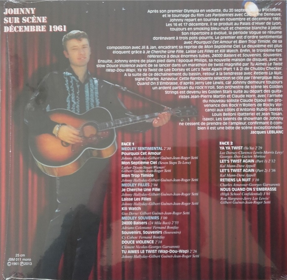 Johnny au Palais d'Hiver de Lyon en 1961. Un disque inédit 2013_j11