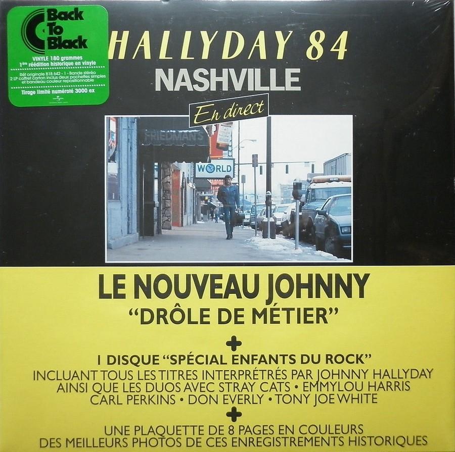 HALLYDAY 84 'NAHSVILLE'  ( 33 TOURS 30CM )( TOUTES LES EDITIONS )( 1984 - 2021 ) 2014_j25