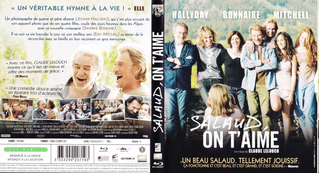 JAQUETTES BLU-RAY DISC ( CONCERTS, FILMS ) 2014_s27