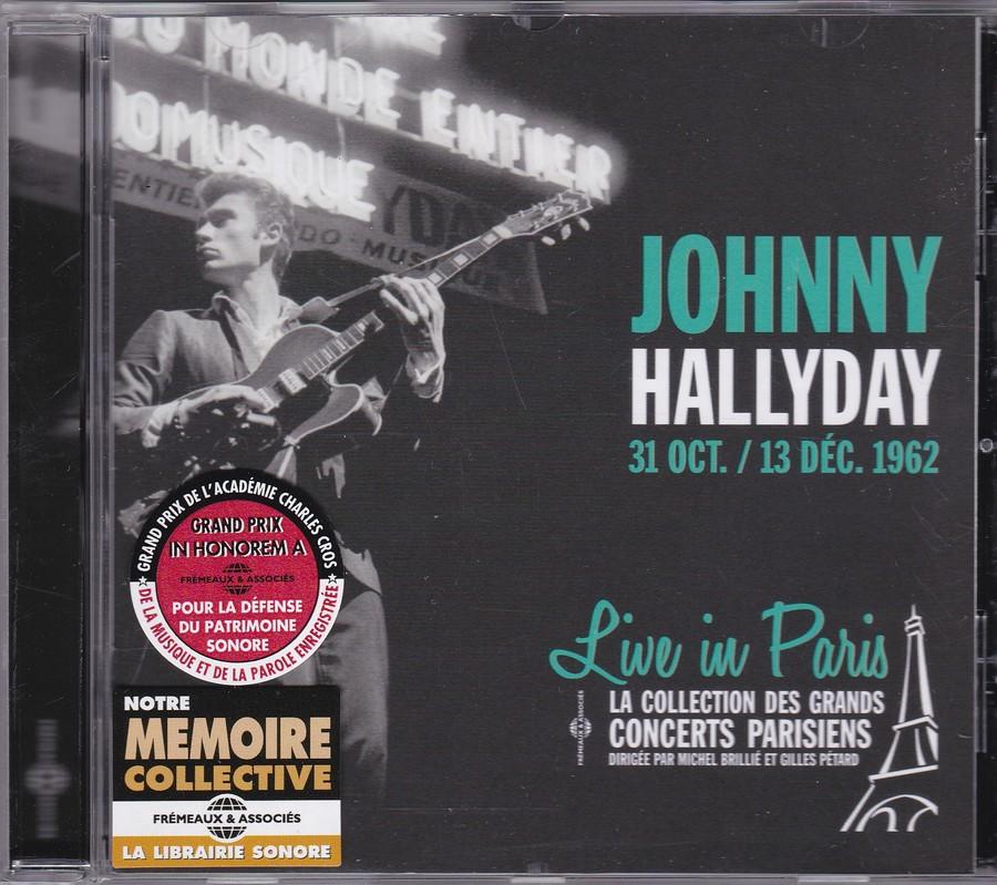 LIVE IN PARIS ( 31 OCTOBRE / 13 DECEMBRE 1962 )( CD )( 2015 ) 2015_l35