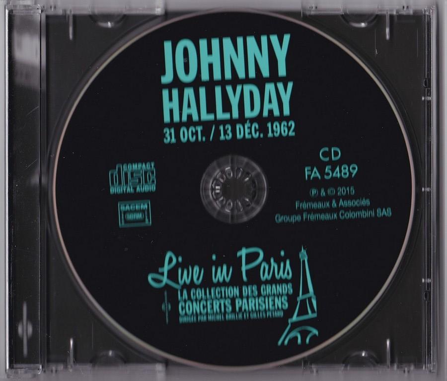 LIVE IN PARIS ( 31 OCTOBRE / 13 DECEMBRE 1962 )( CD )( 2015 ) 2015_l37