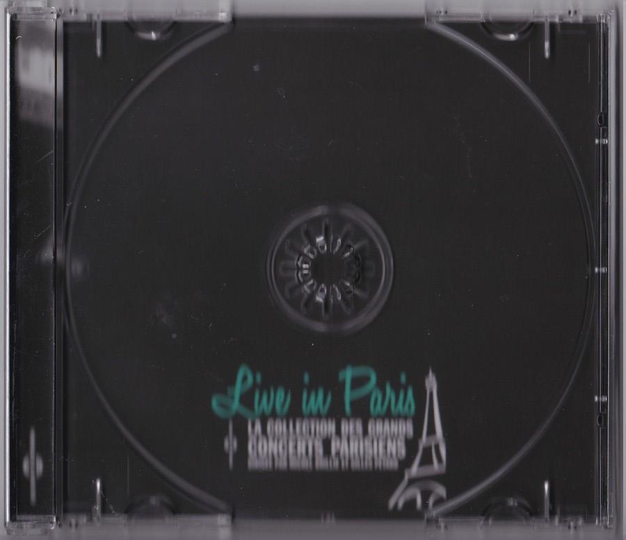 LIVE IN PARIS ( 31 OCTOBRE / 13 DECEMBRE 1962 )( CD )( 2015 ) 2015_l38