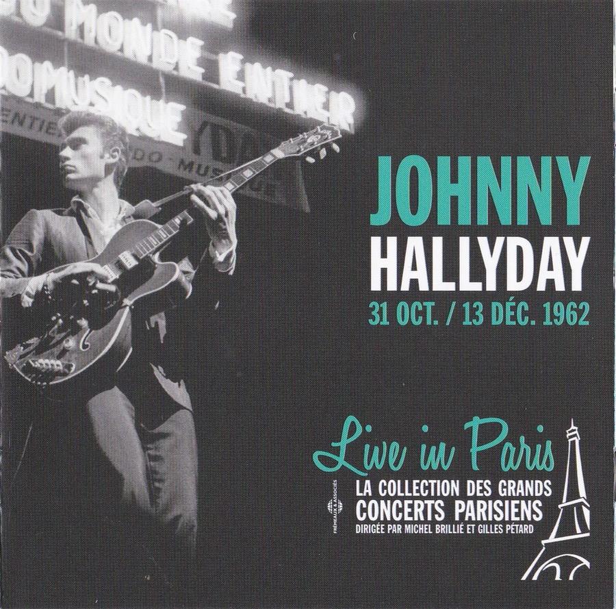 LIVE IN PARIS ( 31 OCTOBRE / 13 DECEMBRE 1962 )( CD )( 2015 ) 2015_l41