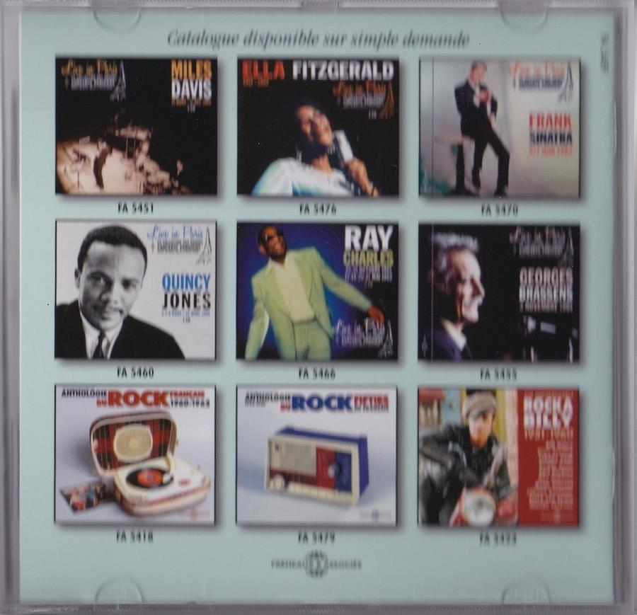 LIVE IN PARIS ( 31 OCTOBRE / 13 DECEMBRE 1962 )( CD )( 2015 ) 2015_l53