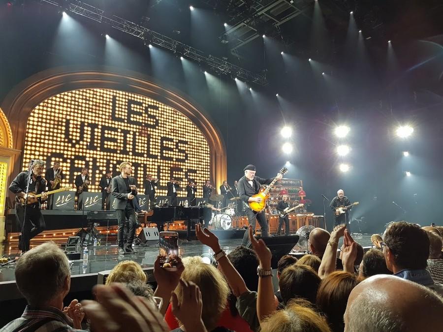LES CONCERTS DE JOHNNY ' LES VIEILLES CANAILLES - GENEVE, SUISSE 2017' 20170653