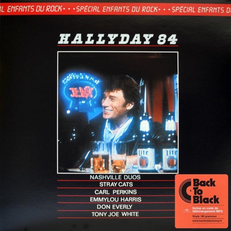HALLYDAY 84 'NAHSVILLE'  ( 33 TOURS 30CM )( TOUTES LES EDITIONS )( 1984 - 2021 ) 2017_h14