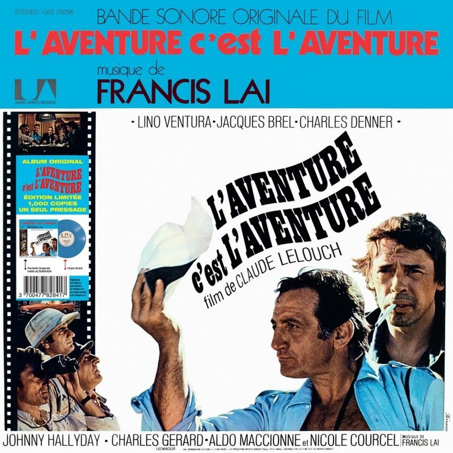 L'AVENTURE C'EST L'AVENTURE ( SP - LP )( TOUTES LES EDITIONS )( 1972-2018 ) 2018_l16