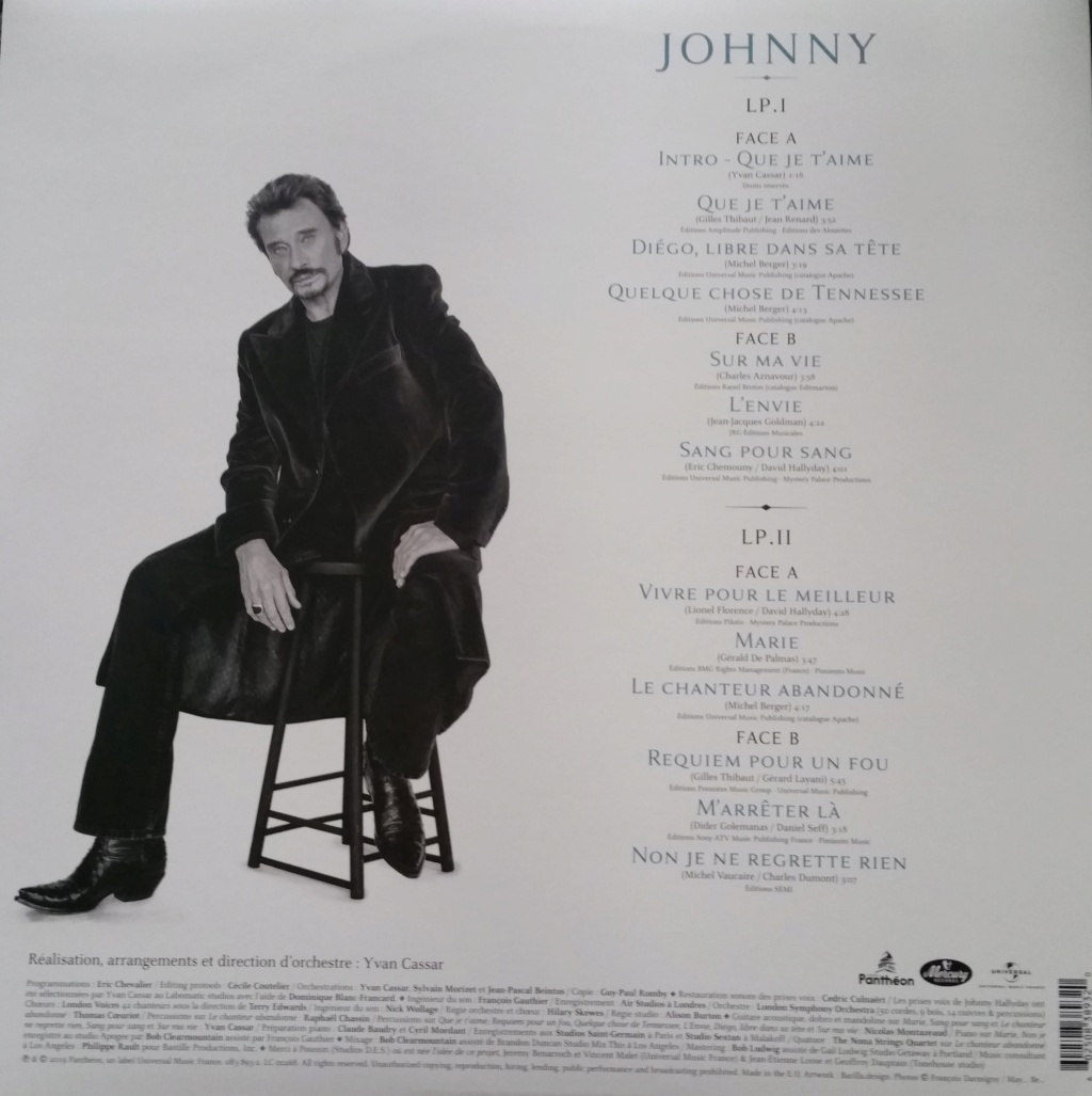 Nouvel Album 'Johnny' ( 2019 ) 20191124