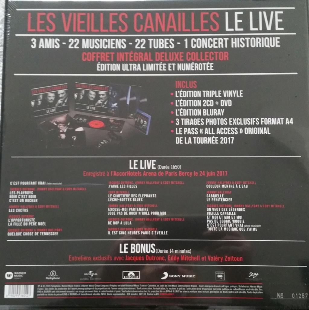 COFFRET EVENEMENT 'LES VIEILLES CANAILLES' ( 2017 )( 2019 ) 20191132