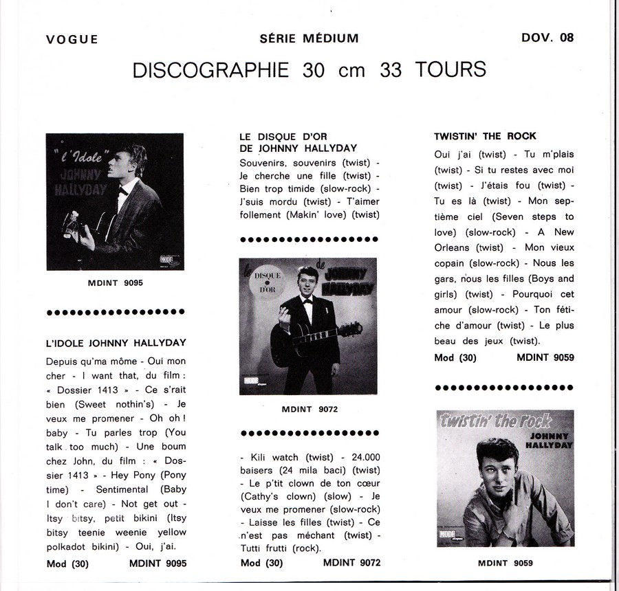 Les disques d'or de la chanson - Souvenirs, souvenirs ( EP 45 TOURS ) 2019_140