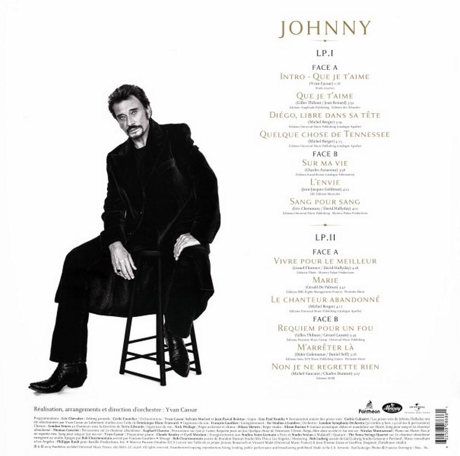 JOHNNY ( 33 tours )( TOUTES LES EDITIONS ( 2019 ) 2019_j40
