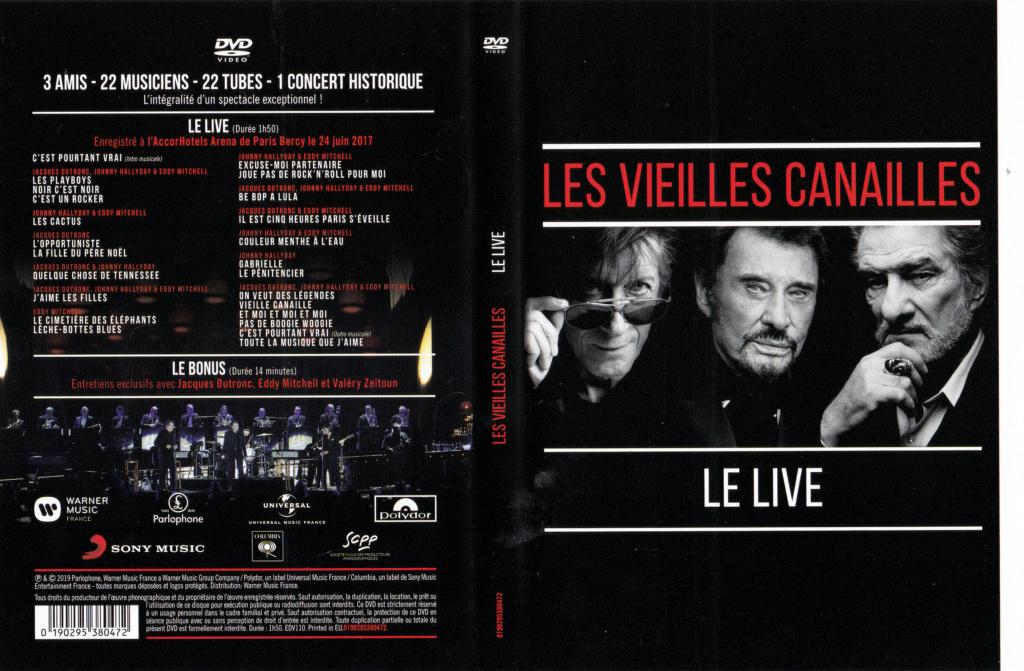 JAQUETTE DVD CONCERTS ( Jaquette + Sticker ) 2019_l16