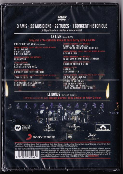 JAQUETTE DVD CONCERTS ( Jaquette + Sticker ) 2019_l17