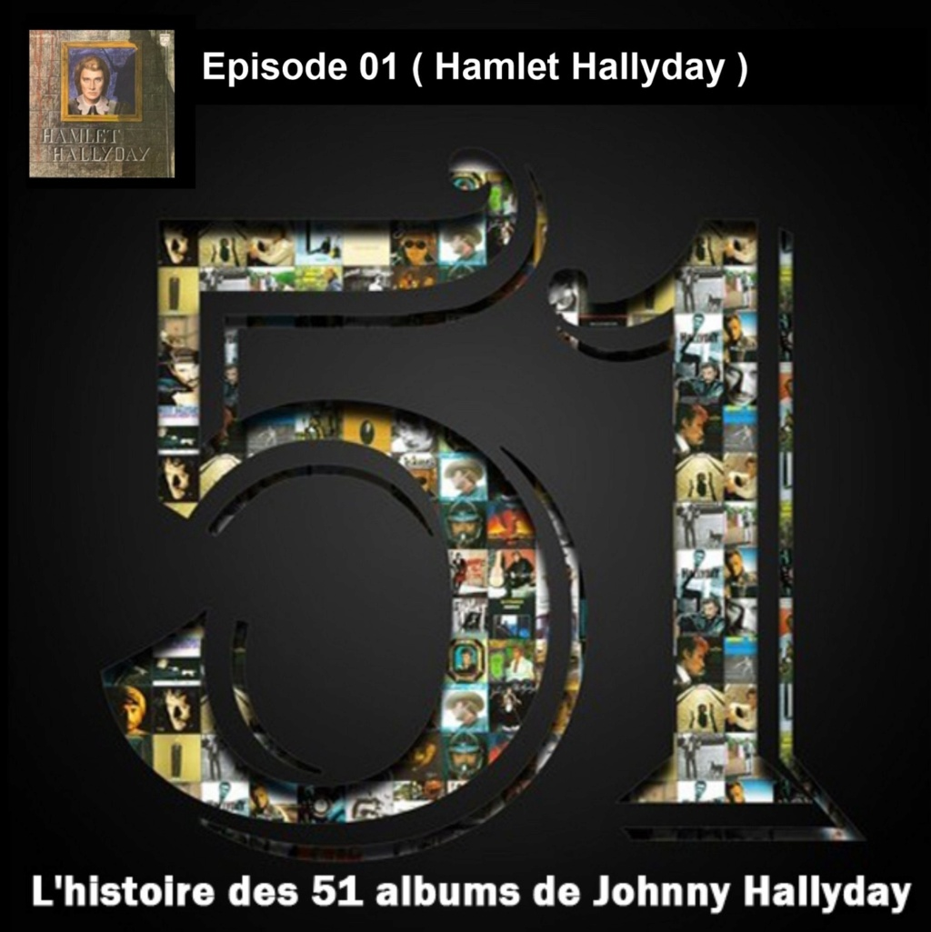 Pochettes CD Recto/Verso des 51 albums de Johnny en Podcast 2019_l22