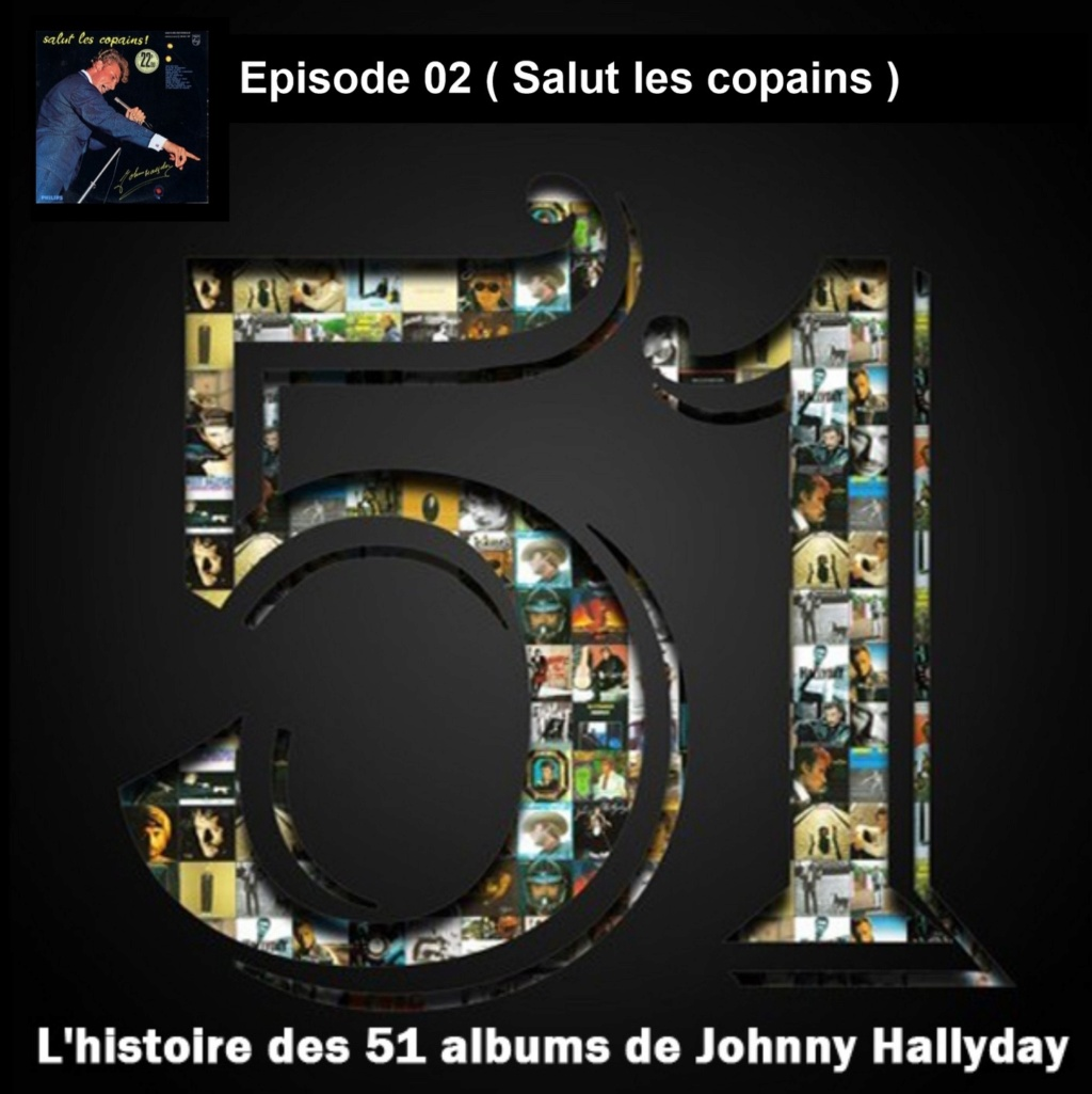 Pochettes CD Recto/Verso des 51 albums de Johnny en Podcast 2019_l24