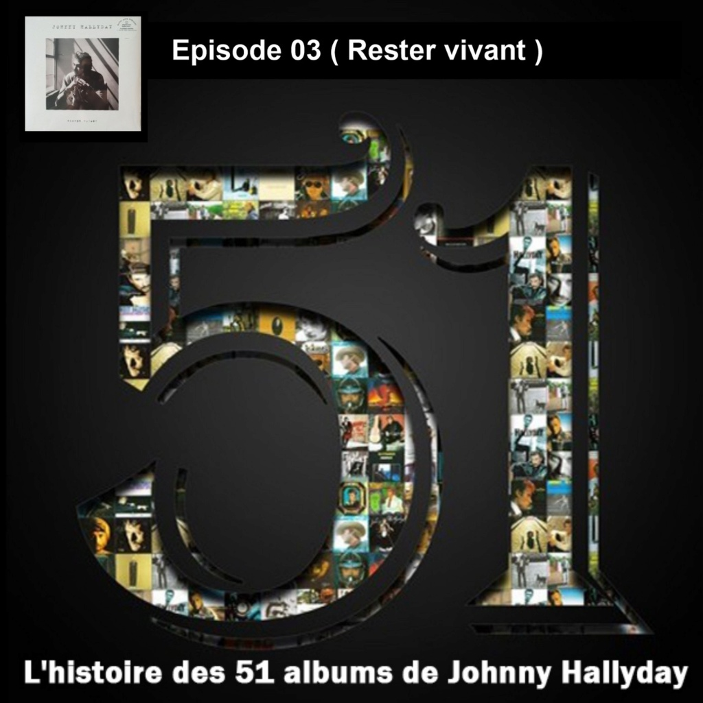 Pochettes CD Recto/Verso des 51 albums de Johnny en Podcast 2019_l26