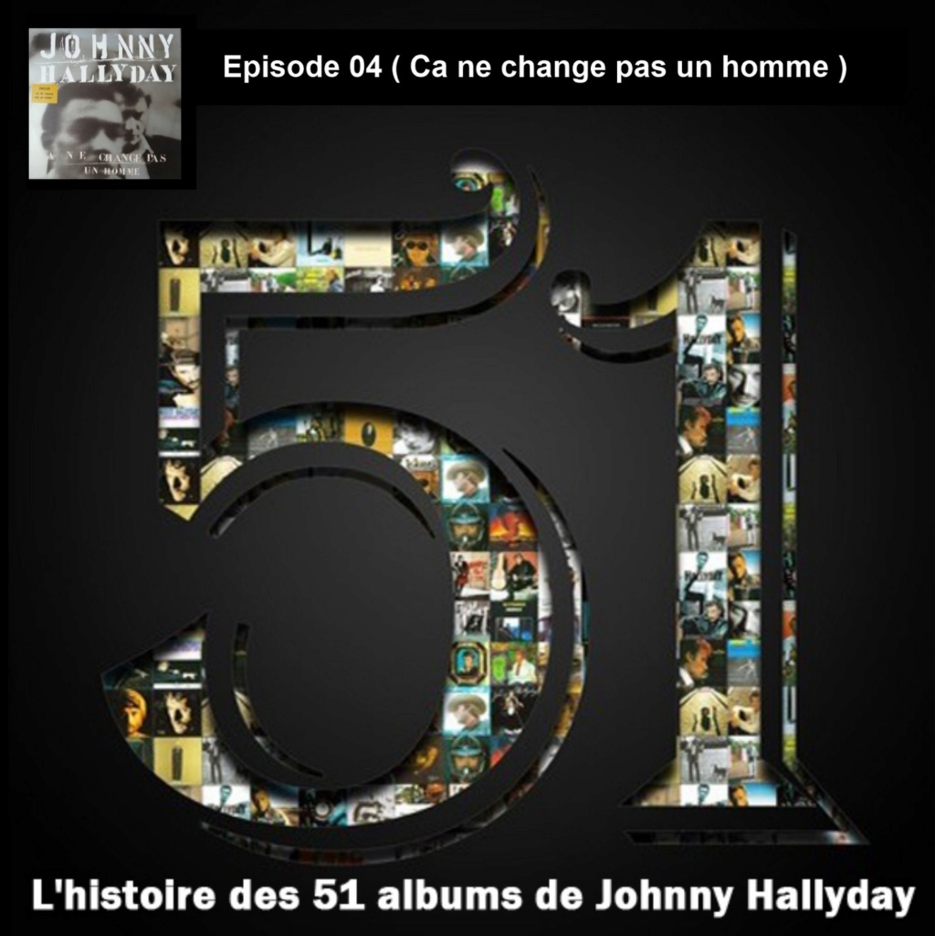 Pochettes CD Recto/Verso des 51 albums de Johnny en Podcast 2019_l28