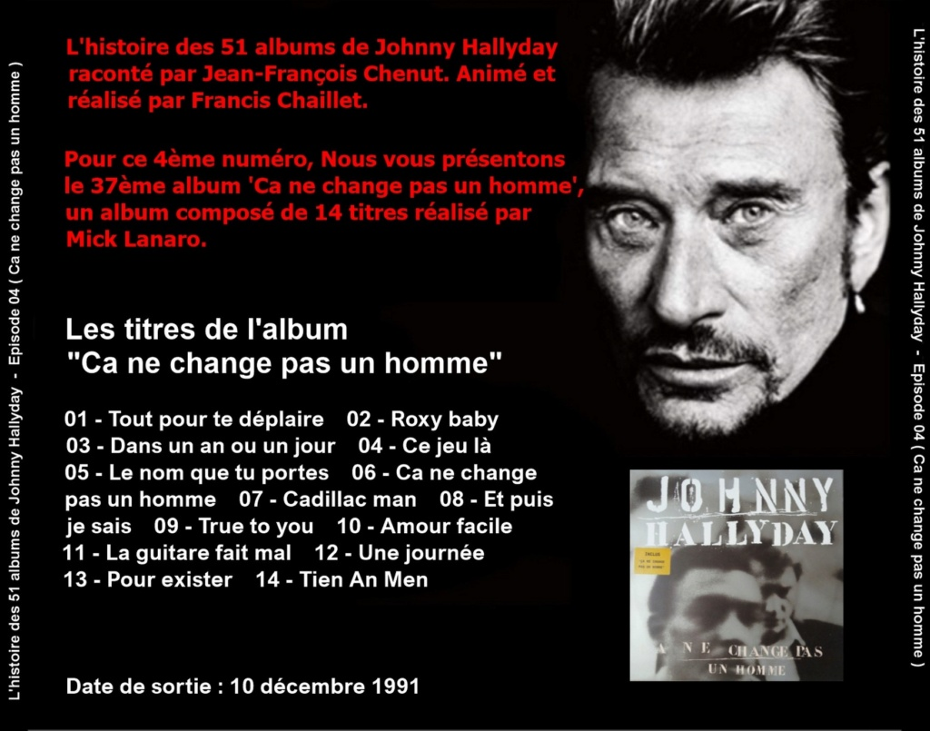Pochettes CD Recto/Verso des 51 albums de Johnny en Podcast 2019_l29