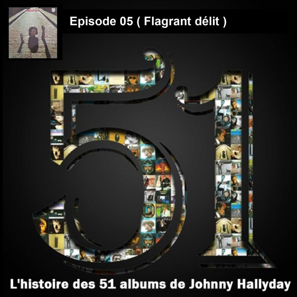 Pochettes CD Recto/Verso des 51 albums de Johnny en Podcast 2019_l30
