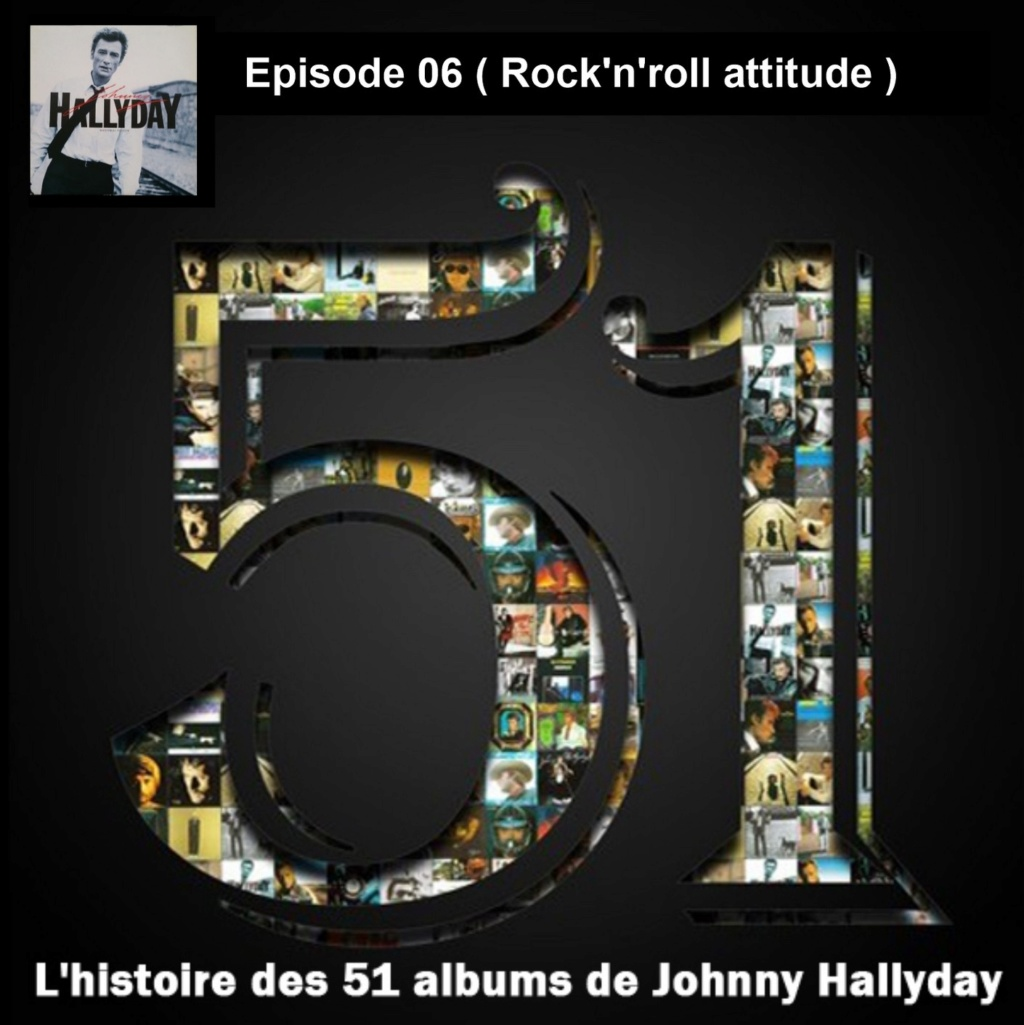Pochettes CD Recto/Verso des 51 albums de Johnny en Podcast 2019_l32