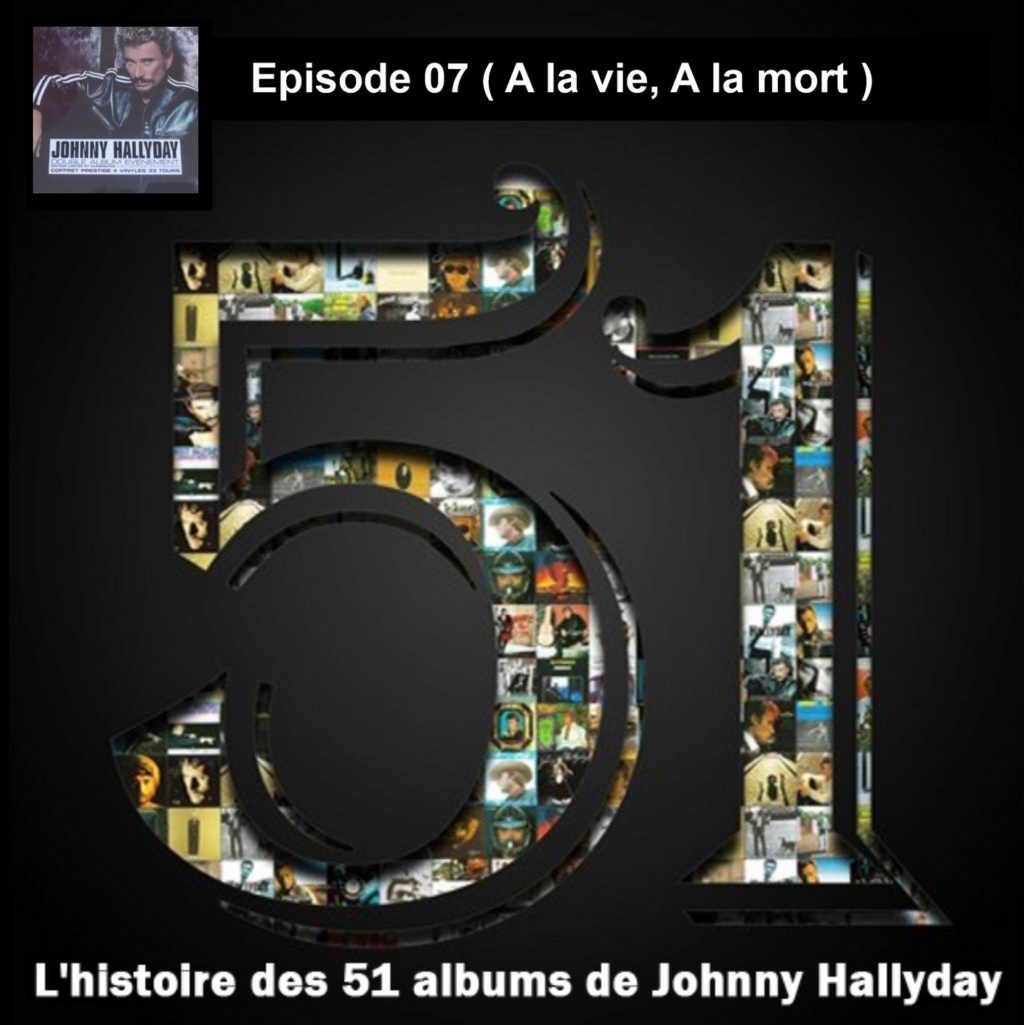 Pochettes CD Recto/Verso des 51 albums de Johnny en Podcast 2019_l34