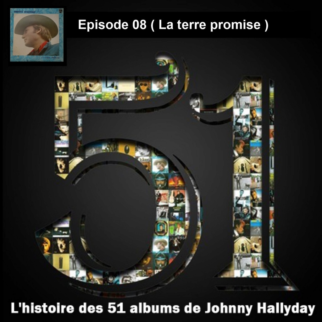 Pochettes CD Recto/Verso des 51 albums de Johnny en Podcast 2019_l36